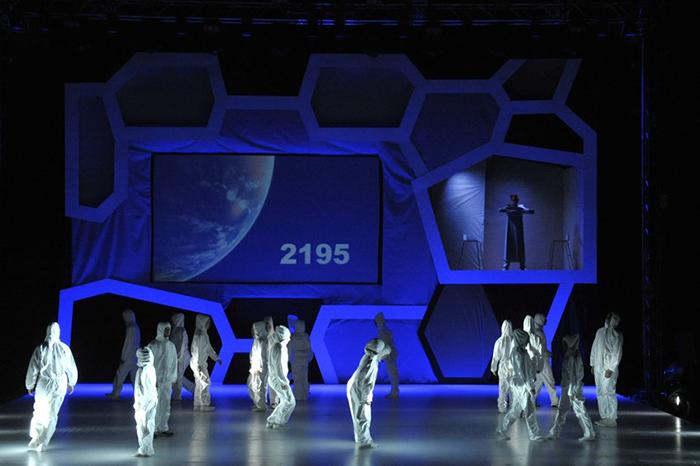 "dance show ""Stroj času"""