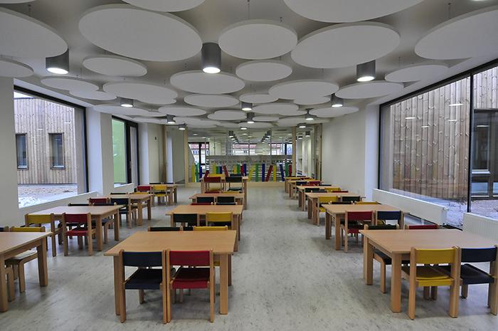 Interiér mateřské školy v Raspenavě